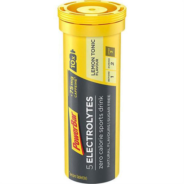 Powerbar Electrolyte Tabs Lemon Tonic Boost (12)