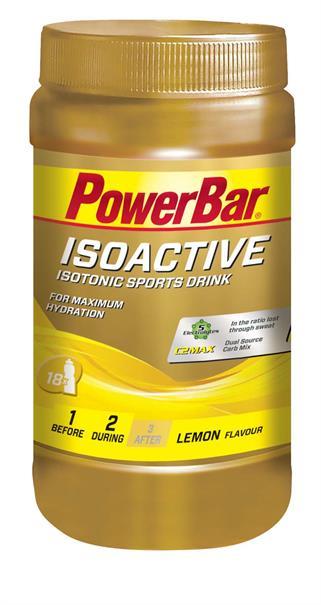 Powerbar isoactive lemon 600 gr. (2)