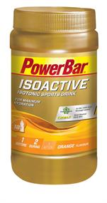 Powerbar Isoactive orange 600 gram