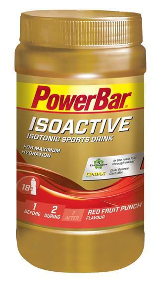 Powerbar isoactive red fruit 600 gram