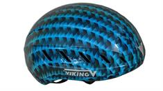 Viking Schaats Helm Blauw